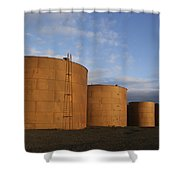 Whaling Relics  Shower Curtain
