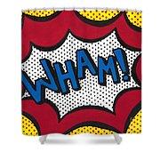 Wham Shower Curtain