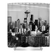What A City Shower Curtain