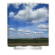 What A Frontporch View Shower Curtain