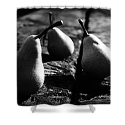 What A Lovely Pear Shower Curtain