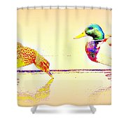 Whatever You Are Looking For, You Will Find It  Shower Curtain