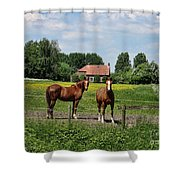 What Are You Staring At?				 Shower Curtain