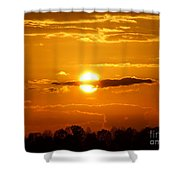 What Do You See Sunset Shower Curtain