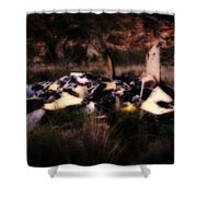 What Is It - Series IIi Shower Curtain