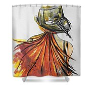 What Lies Ahead Series  I Found Me Shower Curtain