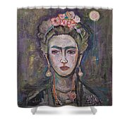 What. Love For Frida 2013 Shower Curtain