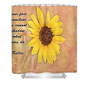 What Sunflowers Do Shower Curtain