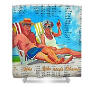 What Who  Who Needs Obama Care Shower Curtain