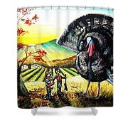 Whats For Dinner? Shower Curtain