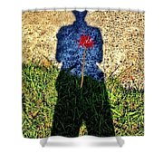 What's In Your Heart ? Shower Curtain