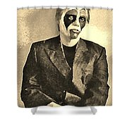 Whats The Point In Miming No One Listens Shower Curtain