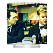 What's The Time Stanley 2013 Shower Curtain by Twin Peaks