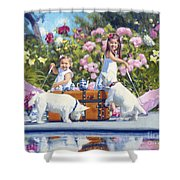 Whats Your Cup Of Tea Shower Curtain