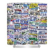 What's Your License? Shower Curtain by Bedros Awak