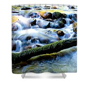 What's Your Rush? Shower Curtain
