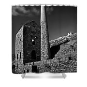 Wheal Coates Engine House Shower Curtain
