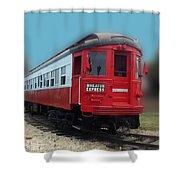 Wheaton Express Shower Curtain