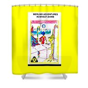 Wheatshire Mr Barley Bridge Pawn Shop Shower Curtain