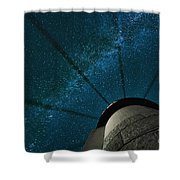 Wheel In The Sky Shower Curtain