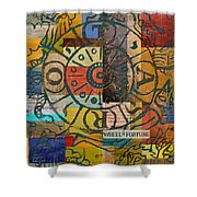 Wheel Of Fortune Shower Curtain