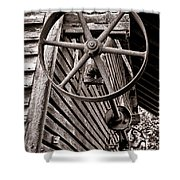 Wheel Of Labor  Shower Curtain
