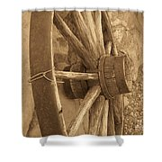 Wheel Of Time II Shower Curtain