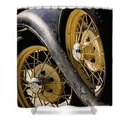 Wheel To Wheel Shower Curtain