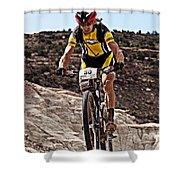 Wheel Up Shower Curtain