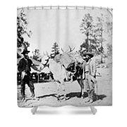Wheeler Ecpedition, 1871 Shower Curtain