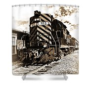 Wheeling And Lake Erie Shower Curtain