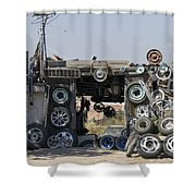 Wheels For Sale Mexico Shower Curtain