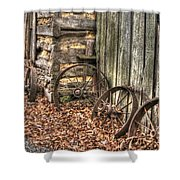 Wheels Of Time Two Shower Curtain