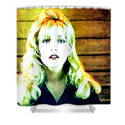 When All The World Seems To Sleep Shower Curtain