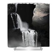When Darkness Falls Shower Curtain