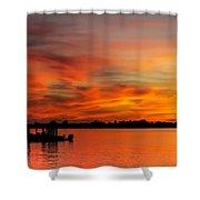 When God Paints Shower Curtain
