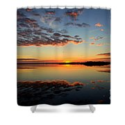 When Heaven Blankets The Earth Shower Curtain by Karen Wiles