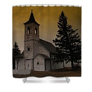 When Heaven Is Your Home Shower Curtain by Jeff Swan