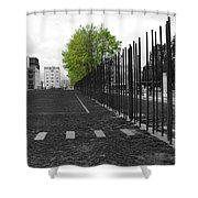 When Hope Blooms Again Shower Curtain