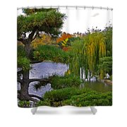 When I Was A Bird By Jrr Shower Curtain