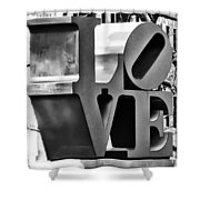 When Love Comes To Town Shower Curtain
