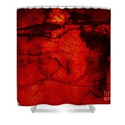 When Petal Left Stamen Shower Curtain