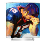 When Tebow Was A Bronco Shower Curtain