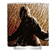 When That Moment Arrives Shower Curtain by Joe Misrasi