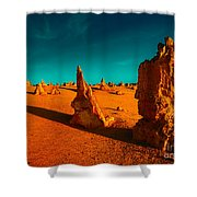 When The Day Is Done Shower Curtain