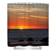 When The Sun Goes Down Shower Curtain