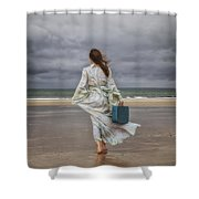 When The Wind Blows Away My Dreams Shower Curtain