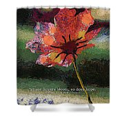 Where Flowers Bloom 04 Shower Curtain