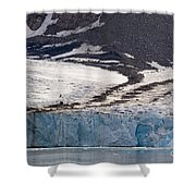 Where Glaciers Meet Shower Curtain