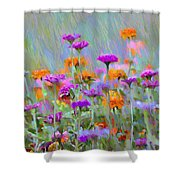 Where Have All The Flowers Gone Shower Curtain by Bill Cannon